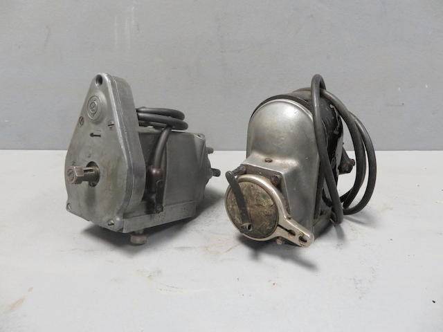 A Coventry twin-cylinder magneto