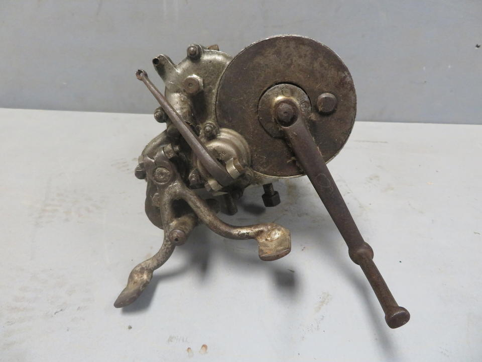 An unidentified four stud gearbox