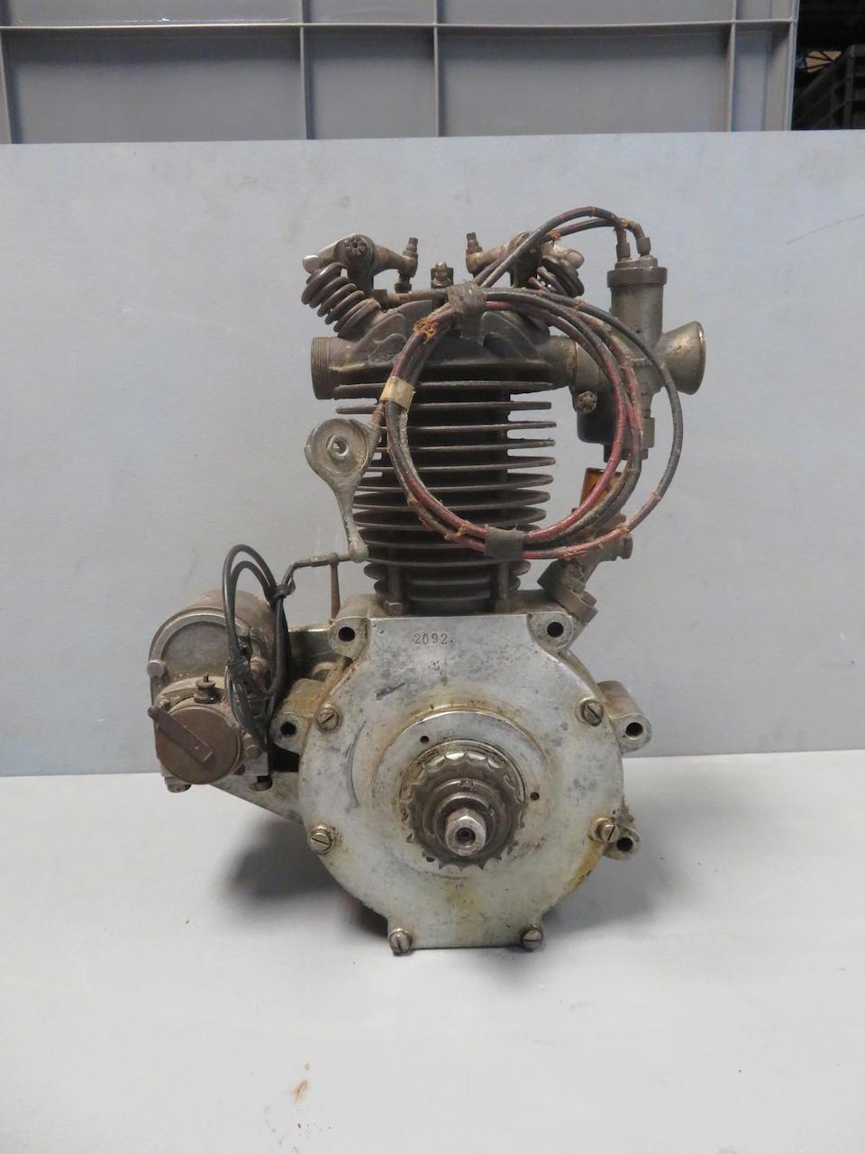 A believed Küchen ohv single-cylinder engine