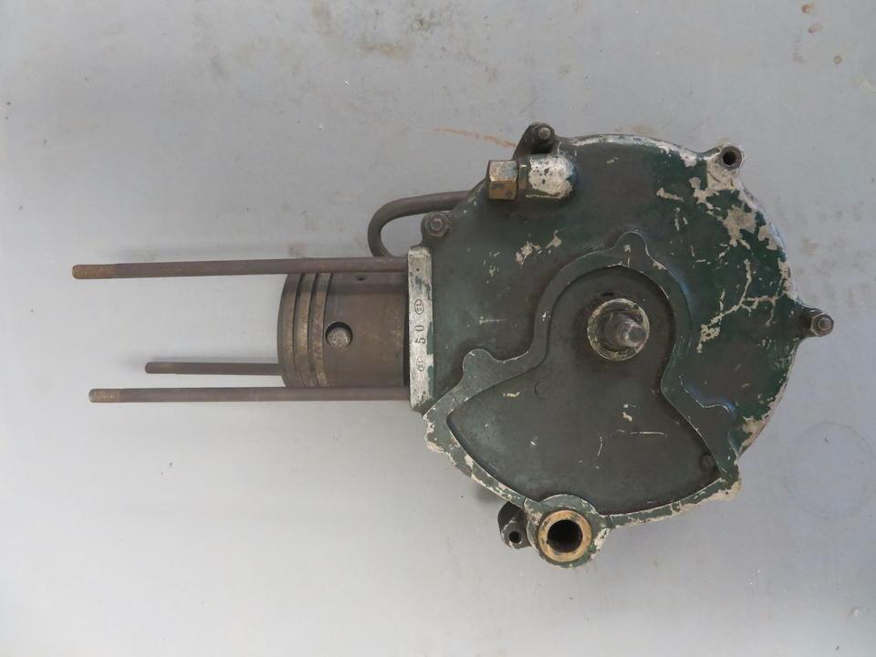 A believed Veteran Peugeot Zedel engine bottom end