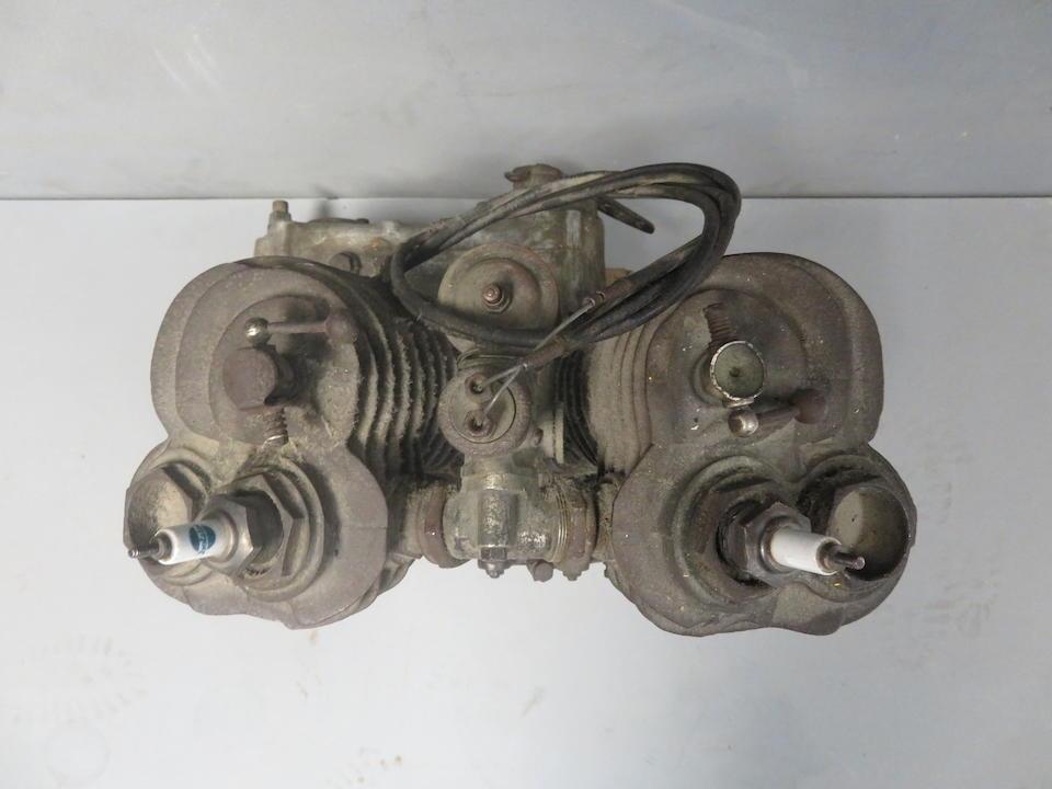 A believed c.1923 Wanderer 616cc v-twin sv engine