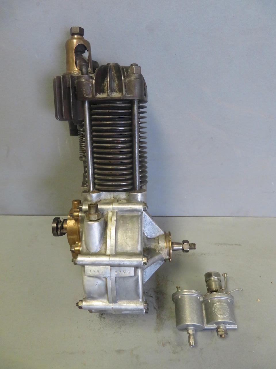 A c.1900 De Dion single cylinder engine