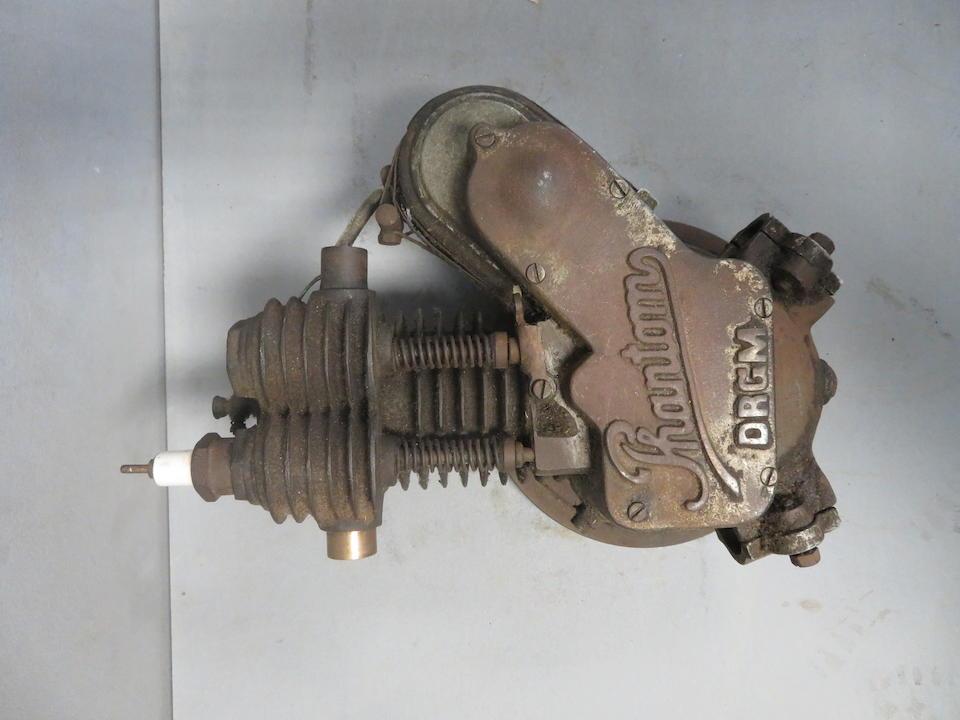 A believed 1920's Phantom single cylinder four-stroke engine