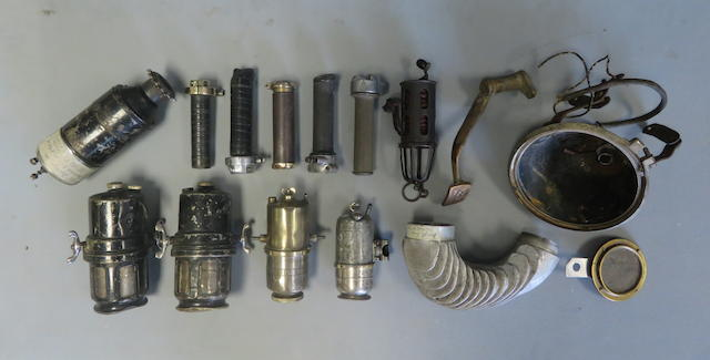 A mixed lot of spares, some believed Brough Superior  ((Qty))