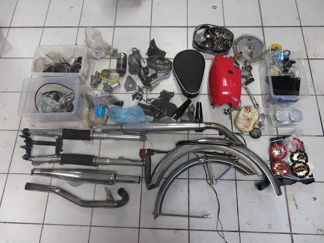 A quantity of British parts