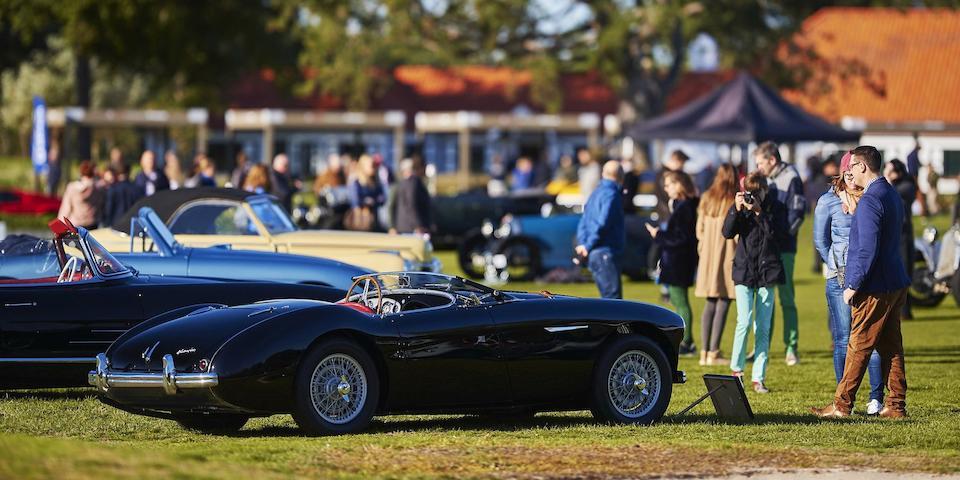 Concours condition,1956 Austin-Healey  100/4 BN2 Le Mans Spec  Chassis no. BN2/L/228821