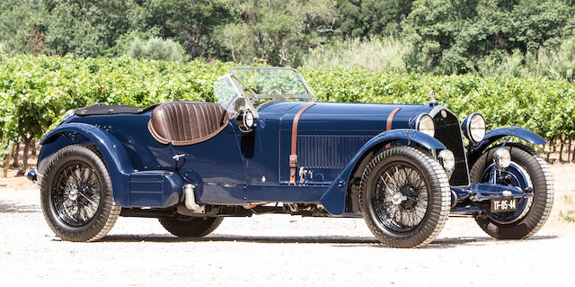 1934 Alfa Romeo 8C 2300 'Long Chassis' Tourer  Chassis no. 2311222