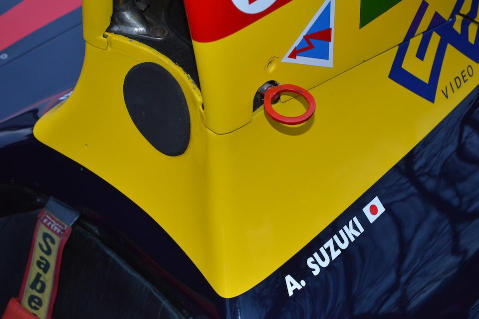 Ex-Larrousse Formula 1 Team; Philippe Alliot, Éric Bernard, Aguri Suzuki, Michele Alboreto,1989 Lola LC89 Formula 1 Monoposto  Chassis no. 03