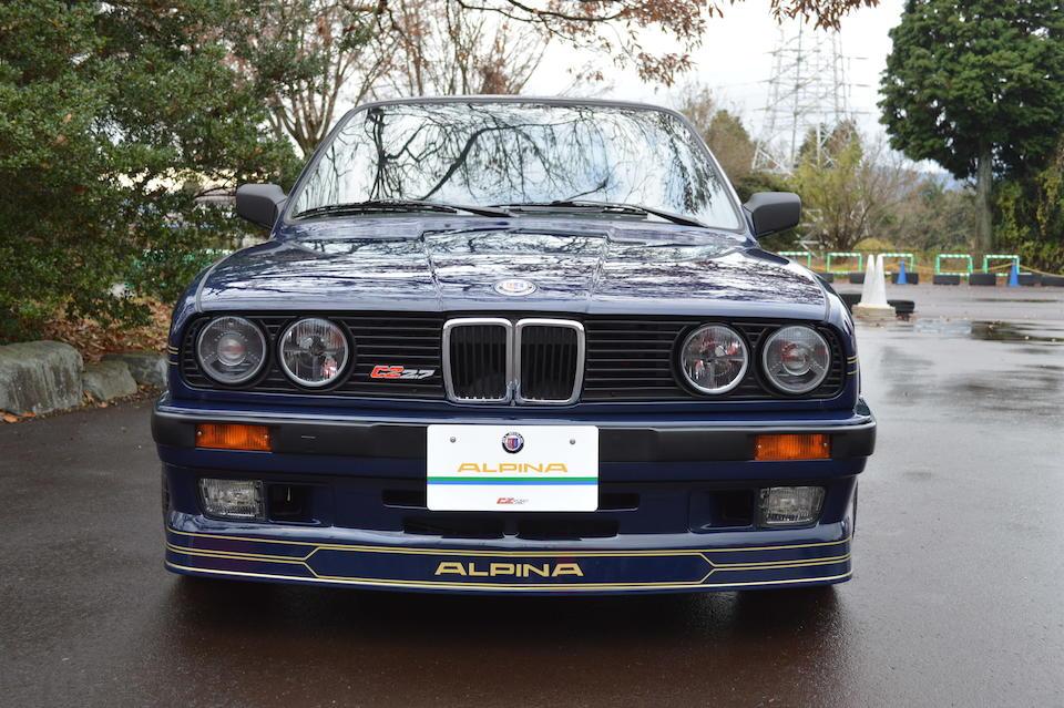1988 BMW Alpina C2 2.7 Sports Saloon  Chassis no. WAPC225008C200074
