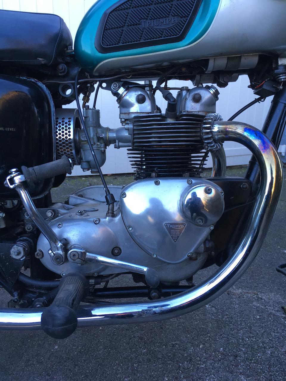 1968 Triumph 490cc Daytona Frame no. T100T H64801 Engine no. T100T H64801