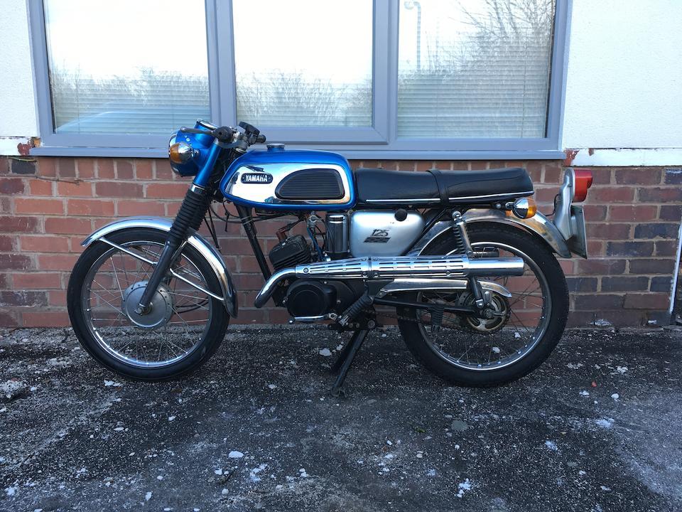 1969 Yamaha 125cc YAS1 Frame no. AS1 303340 Engine no. AS1 303340