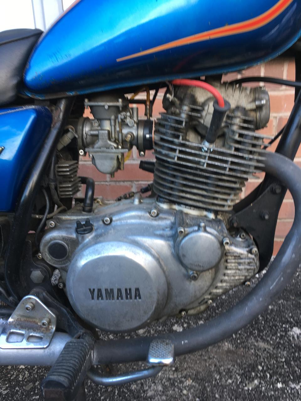 1981 Yamaha SR250 Special Frame no. 3Y8-021743 Engine no. 3Y8-021743