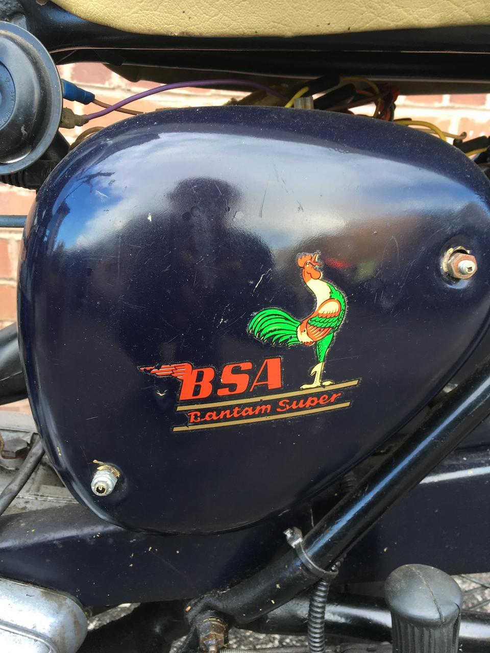 1968 BSA 172cc D14 Bantam Frame no. D14B 1012R Engine no. D14B 1021R