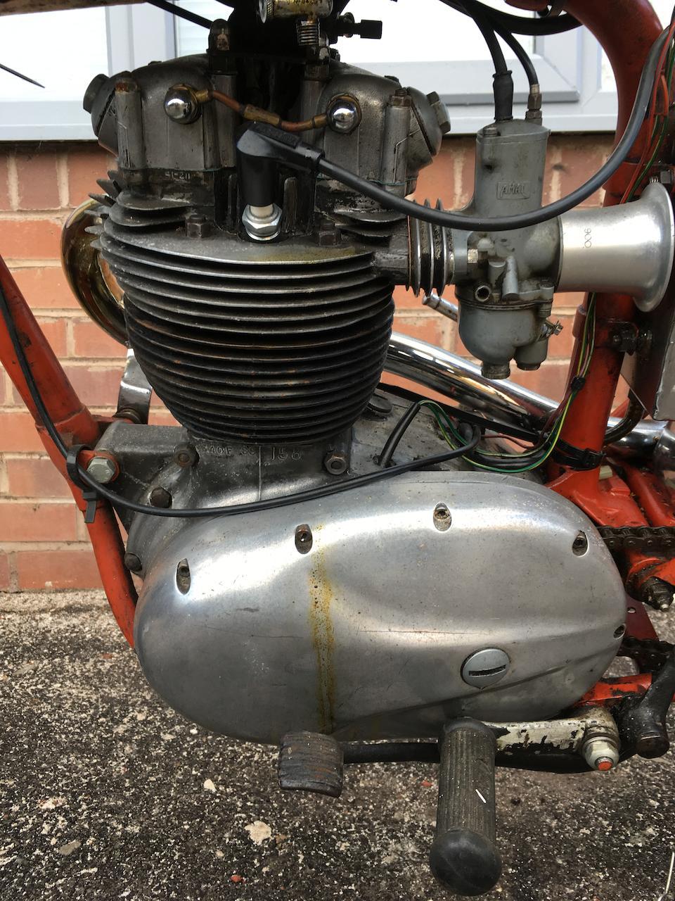 1965 BSA 343cc SS90 Special Frame no. B40.76825 Engine no. B40F SS 158