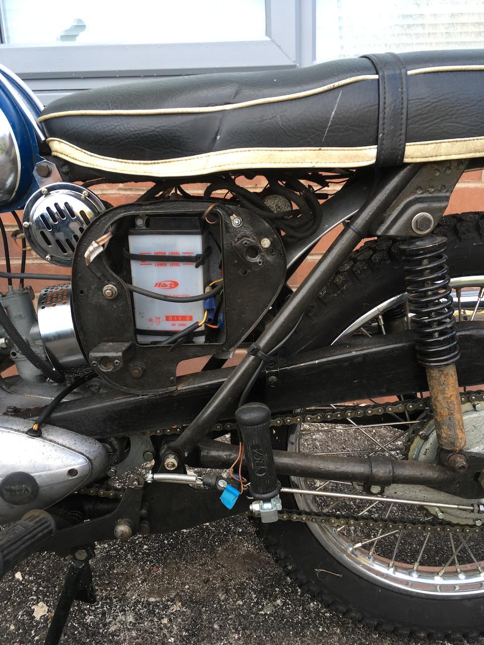 1968 BSA 172cc D14 Bantam Frame no. D14B 2451 Engine no. AD04994 B175