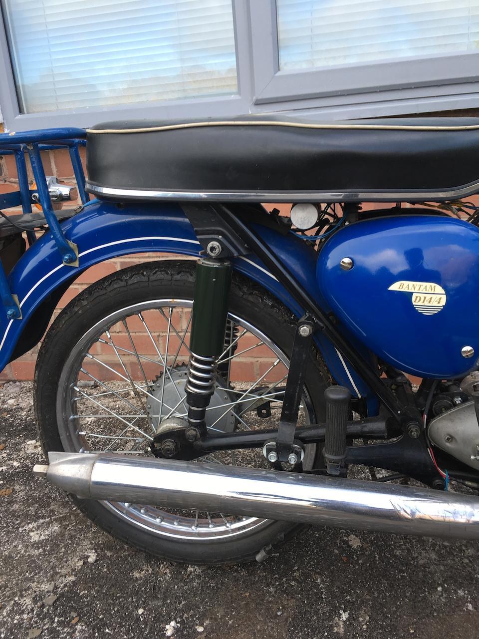 1968 BSA 172cc D14 Bantam Frame no. NC12002 D14B Engine no. NC12002 D14B