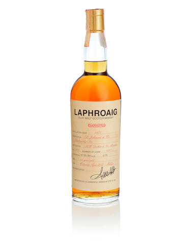 Laphroaig-14 year old-1970