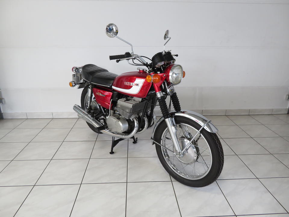1972 Suzuki GT380J Frame no. GT380-27103 Engine no. GT380-28030
