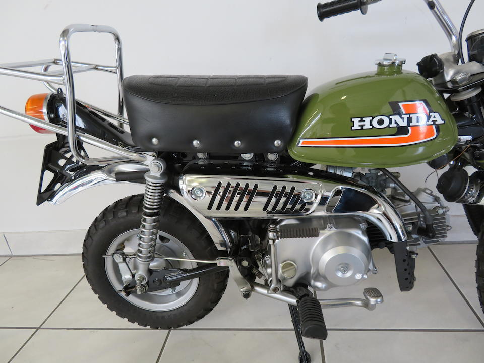 1976 Honda 49cc Z50J 'Monkey Bike' Frame no. Z50J-1111926 Engine no. Z50JE-1111