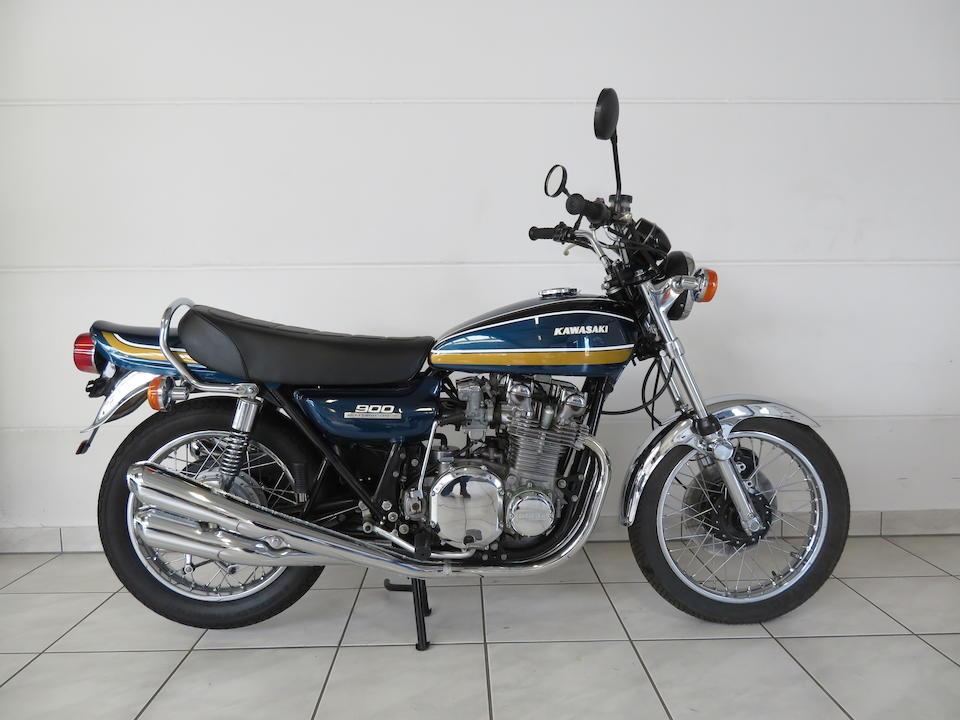 1975 Kawasaki 903cc Z1B Frame no. Z1F 58529 Engine no. Z1E 058078
