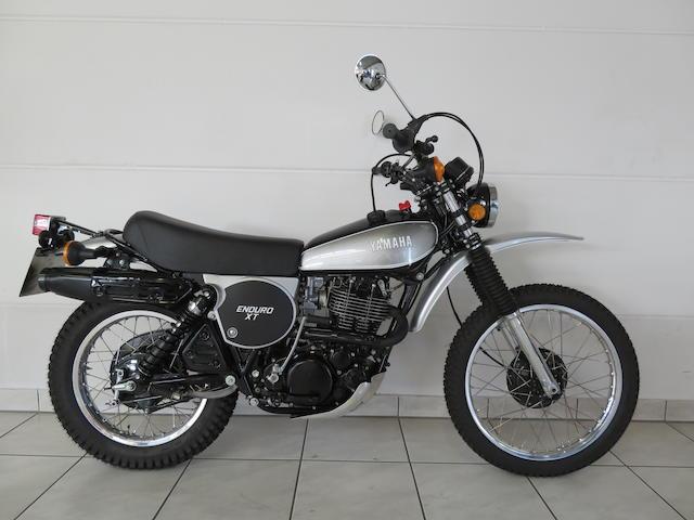 1978 Yamaha XT500 Frame no. 1E6-204033 Engine no. 1E6-204033