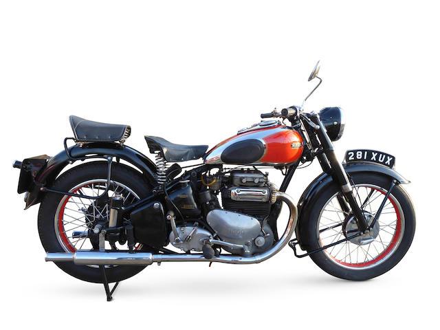 1949 Ariel 997cc Square Four  Frame no. GS654 Engine no. DK154