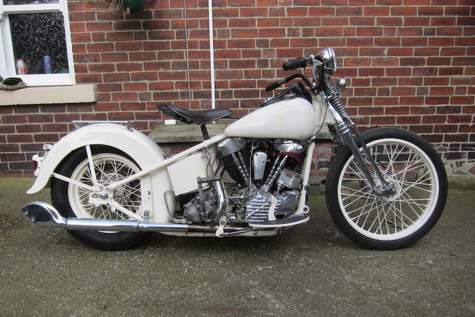 Bonhams : 1945 Harley-Davidson FL 'Knucklehead' Engine no  45FL1464