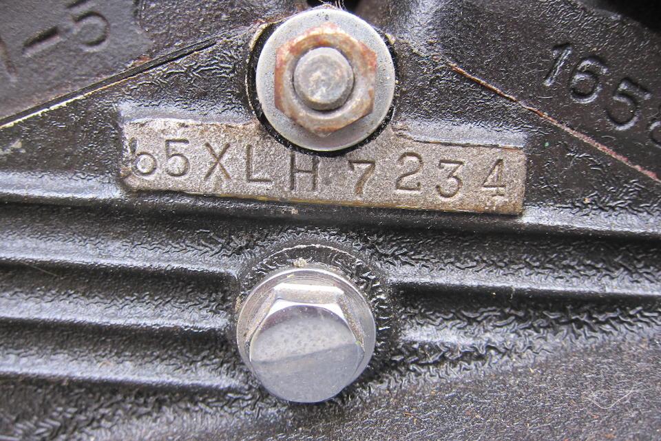 c.1965 Harley Davidson 883cc XLH Sportster Engine no. 65XLH7234