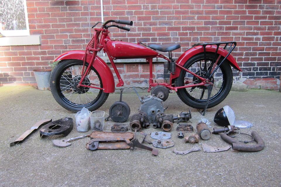 1936 Indian 500cc Scout Junior Project Frame no. 536268J Engine no. ECF268