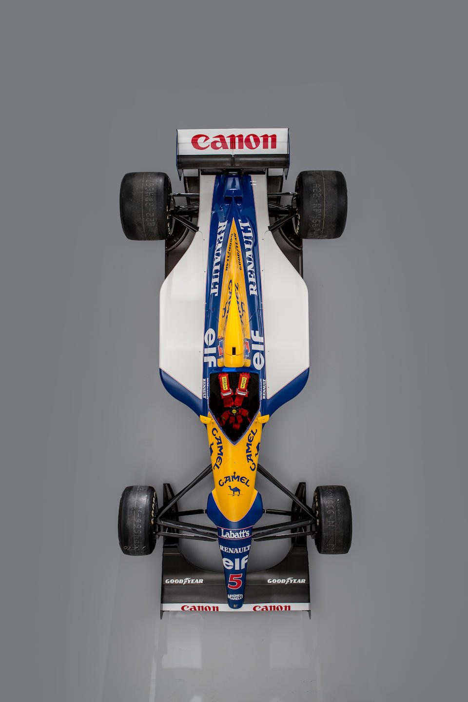 'RED 5' – The Ex-works, Nigel Mansell, Riccardo Patrese South African, Mexican, Brazilian, Spanish and San Marino Grand Prix-winning,1992 Williams-Renault FW14B Formula 1 Racing Single-Seater  Chassis no. FW14-08 Engine no. 240
