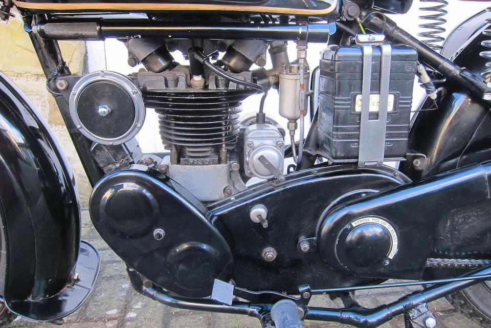 1939 Velocette 248cc MOV Frame no. MD9255 Engine no. M3684