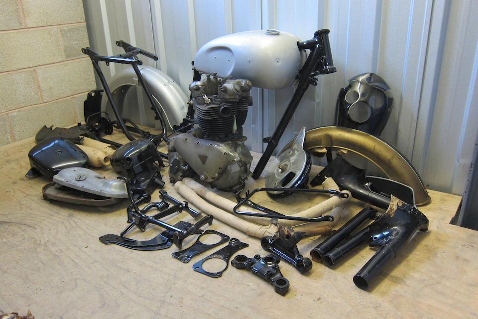 1958 Triumph 649cc Tiger 110 Project Frame no. 018929 Engine no. T110 018929