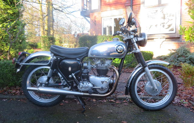 Property of a deceased's estate, c.1956 Tri-BSA 650cc Special Frame no. CA7 7554 Engine no. T110 03159