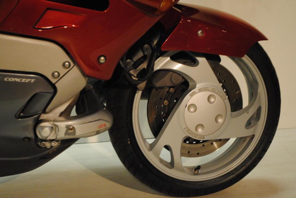 1996 Yamaha GTS1000 Frame no. 4BH 001729 Engine no. 4BH 001729