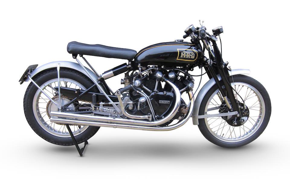 Vincent-HRD 998cc Black Lightning Evocation Special Frame no. RC/1/8916/C Engine no. F10AB/5/1015