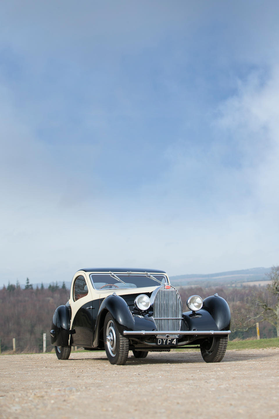 From the collection of the late Barry Burnett,1935 Bugatti Type 57 Atalante Faux Cabriolet  Chassis no. 57252