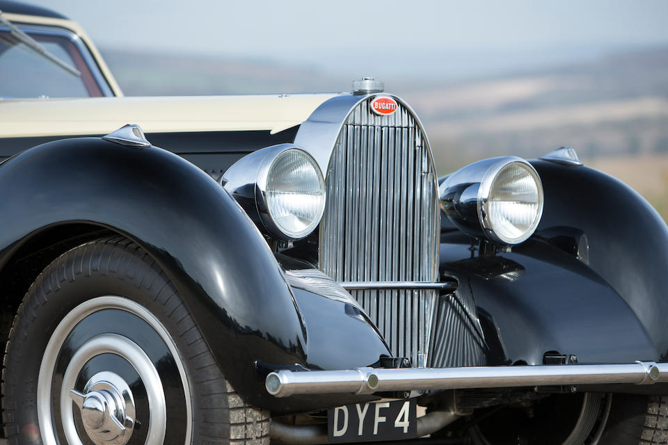 From the collection of the late Barry Burnett,1935 Bugatti Type 57 Atalante  Chassis no. 57252