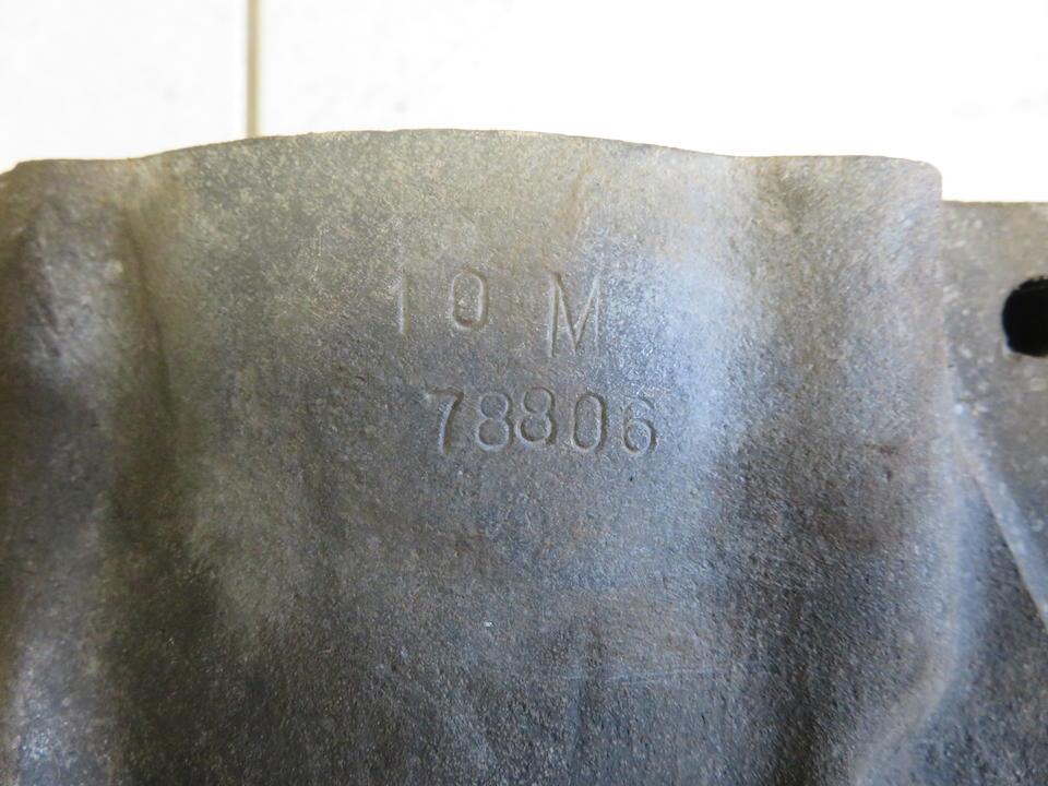 A set of Norton Manx magnesium alloy crankcases