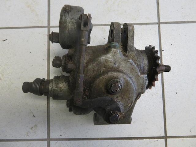 A Norton 'Dollshead' gearbox