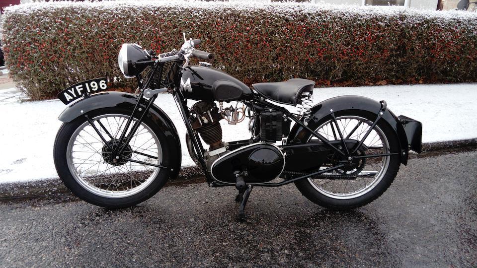 1934 Matchless 245cc Model F Frame no. 546 Engine no. 34F 562