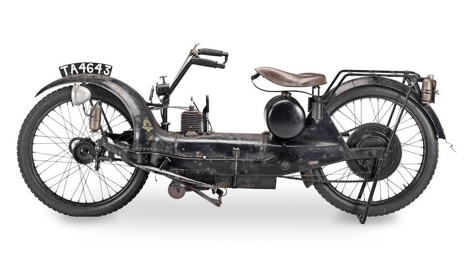 1922 Ner-a-Car 2¼hp Frame no. 2402 Engine no. 1681