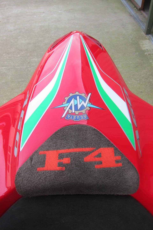 2004 MV Agusta 998cc F4 1000 Agostini Frame no. ZCGF511BB4V001540 Engine no. F5A401280