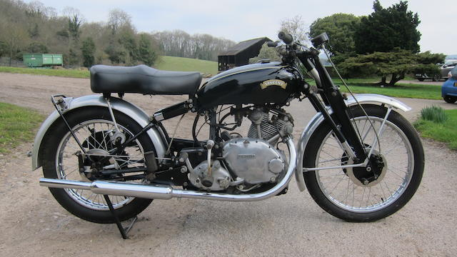 1953 Vincent 499cc Series-C Comet Frame no. RC1/1/11640   Engine no. F5AB/2A/9740 (See Text)  Crankcase mating nos. 17MM / 17MM