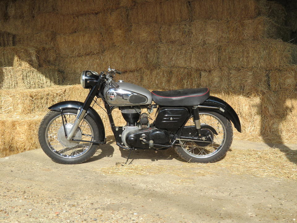 1957 Norton 596cc Model 19S Frame no. M9 72916 Engine no. 72916 M9