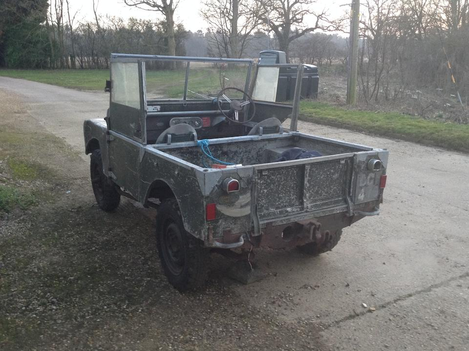 """1949 Land Rover Series I 80"""" 4x4 Utility Project  Chassis no. R06104462"""