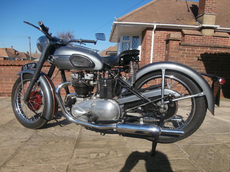 c.1954 Triumph 649cc Thunderbird / Tiger 110 Frame no. SABTVRO367C279520 (See text) Engine no. T110 59747