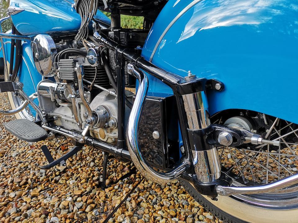 1940 Indian 78ci Four Frame no. DDO150 Engine no. DDO150