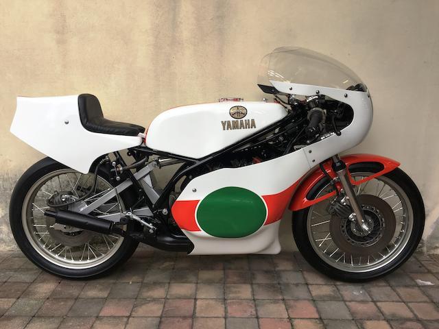 c.1979 Yamaha TZ250F Racing Motorcycle Frame no. 430-997524 Engine no. not numbered