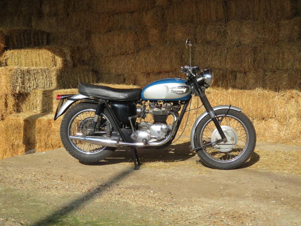1968 Triumph 649cc TR6C Trophy Frame no. TR6 DU74868 Engine no. TR6 DU74868