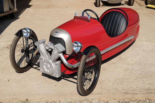 A Morgan 'SuperSport Junior' Three Wheeler child's pedal car by Morgan Motor Co.Ltd, 2009,